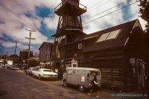 Water tower, Mendocino, California