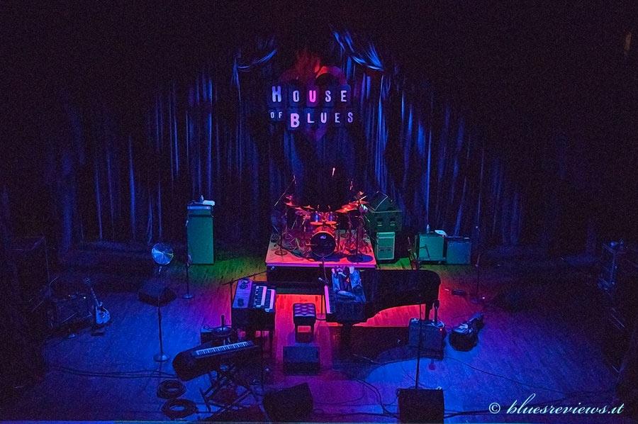 HOB, Dr. John's stage