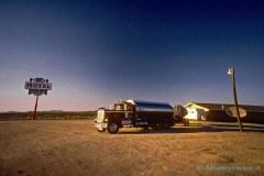 Tank trucks, Nevada Desert
