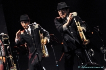 Osaka Monaurail, trumpets