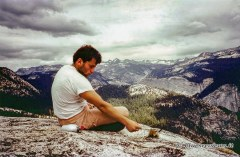 top of Half Dome, Yosemite Park