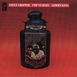 "CD cover of ""Cropper/Staples/King, Jammed Together"""
