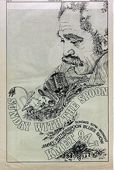 Jimmy Witherspoon radio show ad