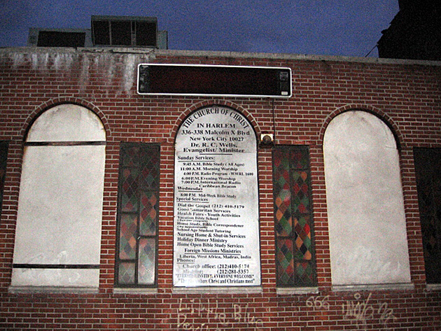 The Church of Christ in Harlem, New York