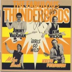 Fabulous Thunderbirds, Girls Go Wild (CD cover)
