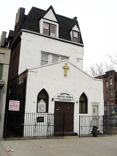 Downtown Baptist Church, Harlem, New York