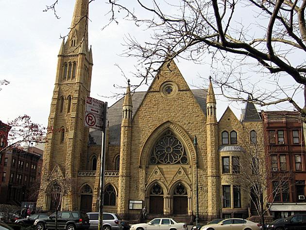 Christian Church in Harlem, New York