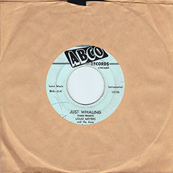 "Record of Louie Meyers & The Aces, ""Just Whaling"""