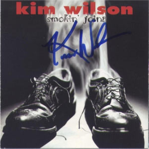Kim Wilson, Smokin' Joint (CD cover)