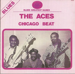 "The Aces, ""Chicago Beat"", original vinyl edition cover"