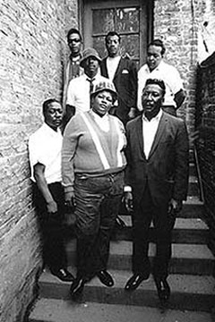 Big Mama Thornton and Muddy Waters' Band in California, 1966