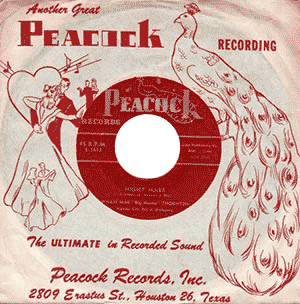 Nightmare, 45 rpm record (Peacock label)