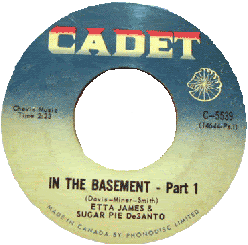 Etta James & Sugar Pie DeSanto, In The Basement