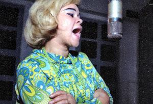 Etta James at Muscle Shoals, Al, 1967 ca