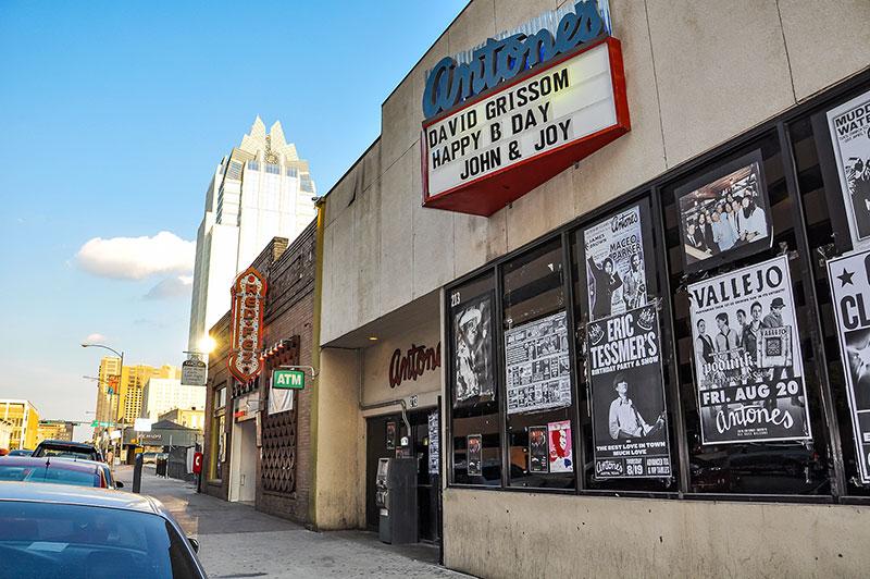 Antone's nightclub, Austin, Texas