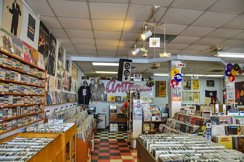 Antone's Record, Austin, Texas