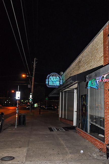 Deep Ellum at night, Dallas