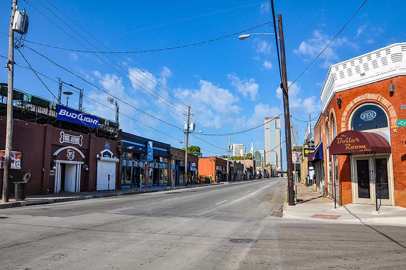 Deep Ellum, Elm Street, Dallas