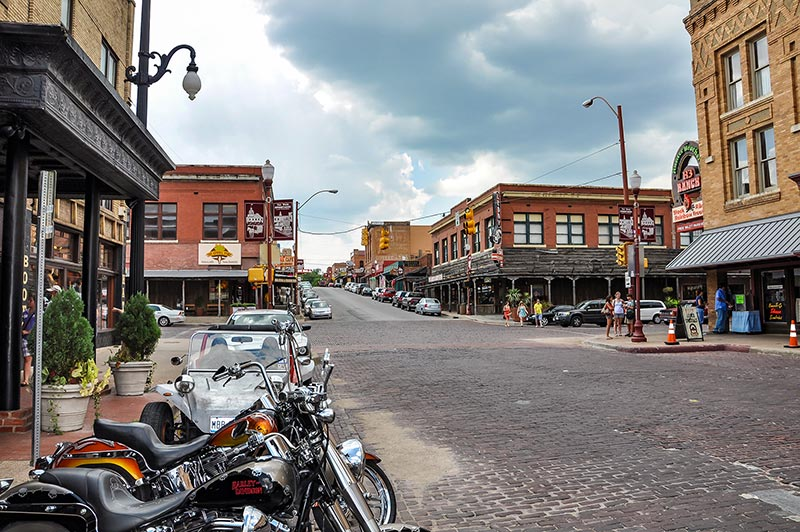Fort Worth historic district