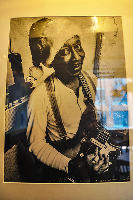 Muddy Waters photo at the House of Blues, Dallas, Tx
