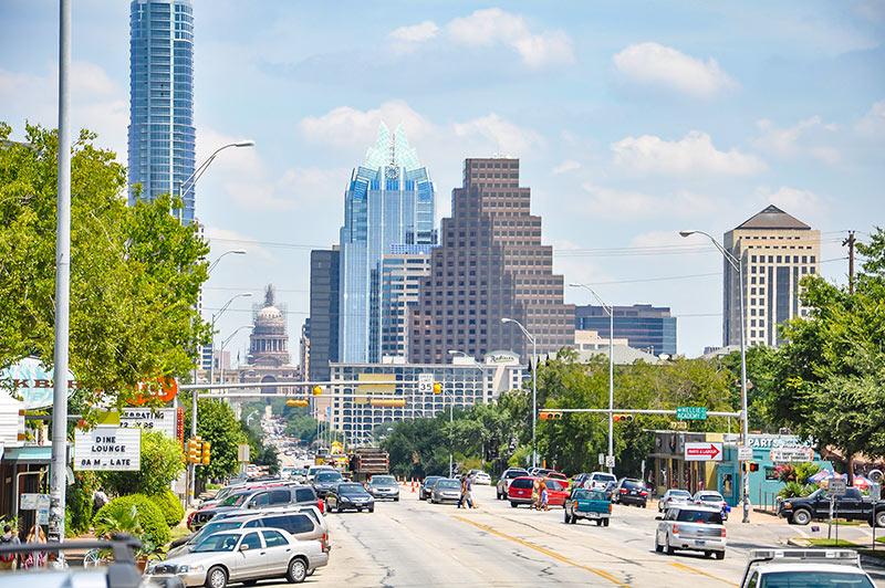 South Congress Ave, Austin, Texas