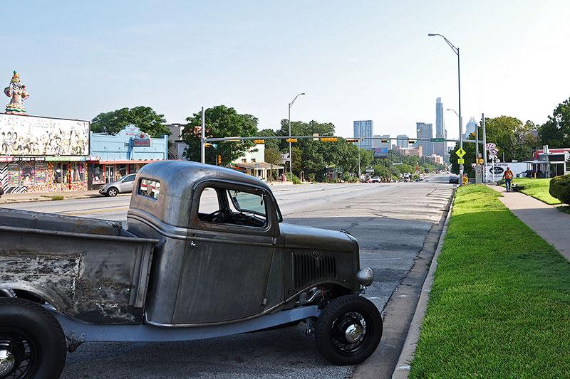 Old pickup, Austin, Texas