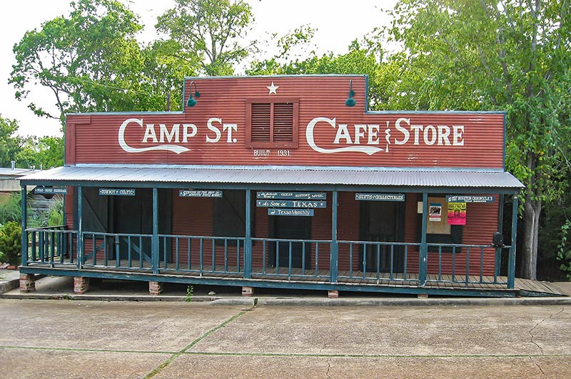 Camp Street Café and Store, Crockett, Texas