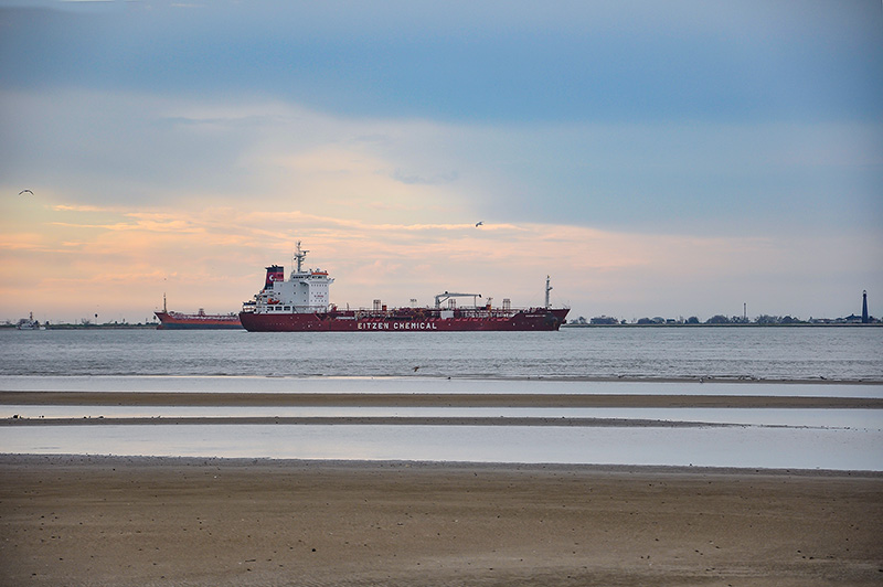 Eitzen Chemical ship in Galveston, Texas