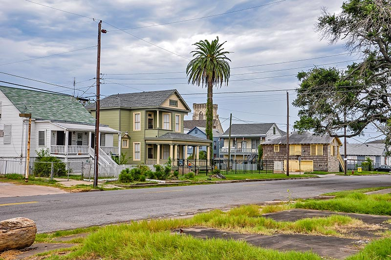 Houses, Galveston, Texas