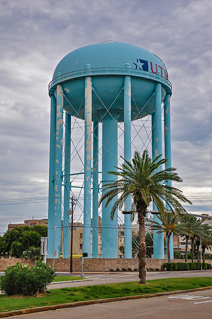 UTMB Watertower, Galveston, Texas