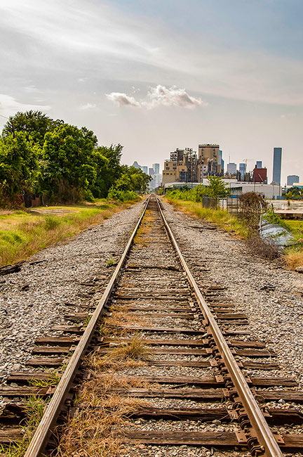 Railroad, North-East Houston, Texas