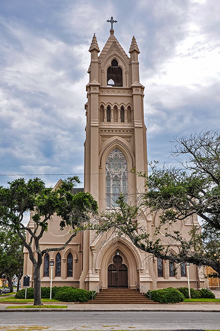 St Patrick Catholic Church, Galveston, Texas