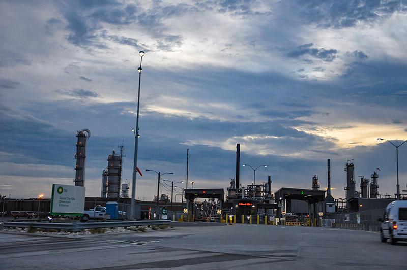 Texas City's BP refinery, Texas