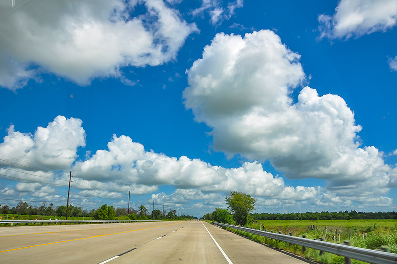 Road to Beaumont, Texas