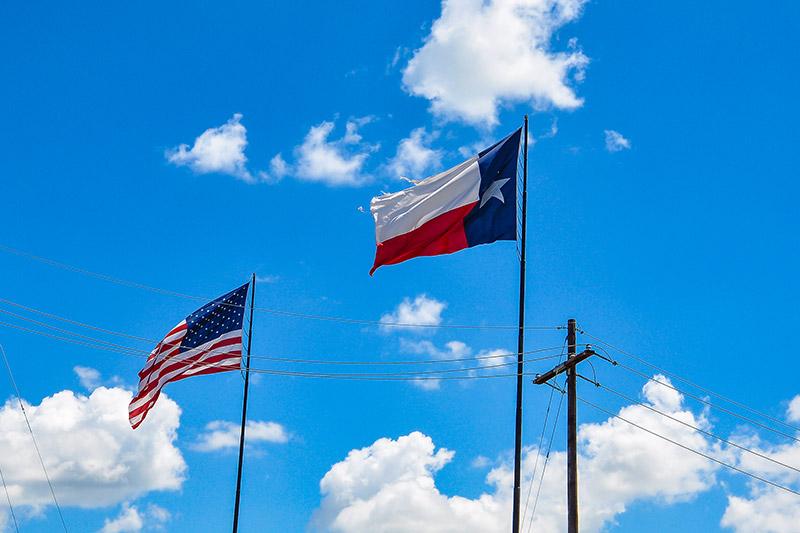 Flags, Texas