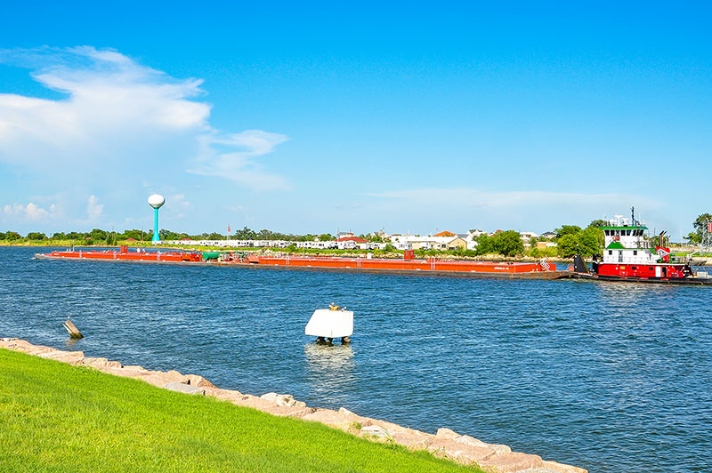Julie Gonsoulin towboat, Port Arthur, Texas