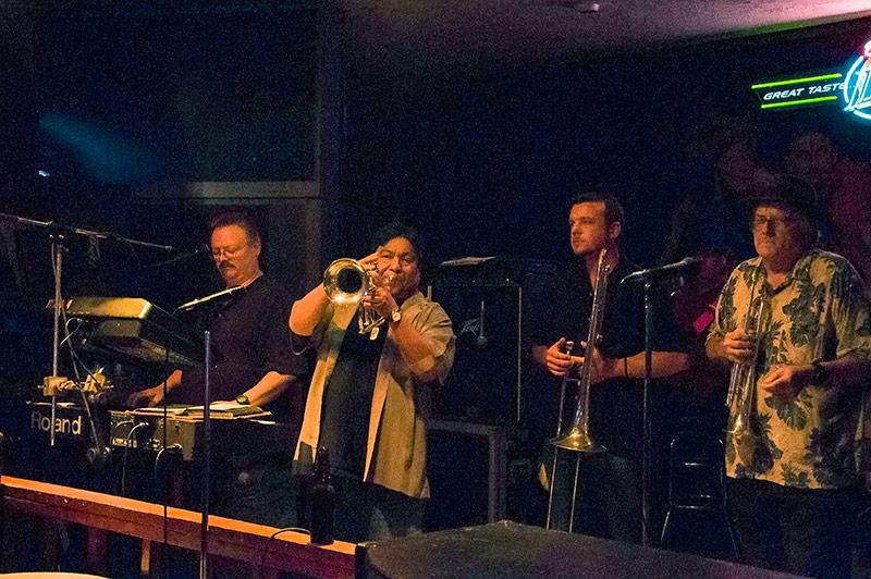 Live music at the Boudain Hut, Port Arthur, Tx