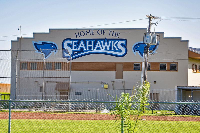 Home of The Seahawks, Port Arthur, Texas