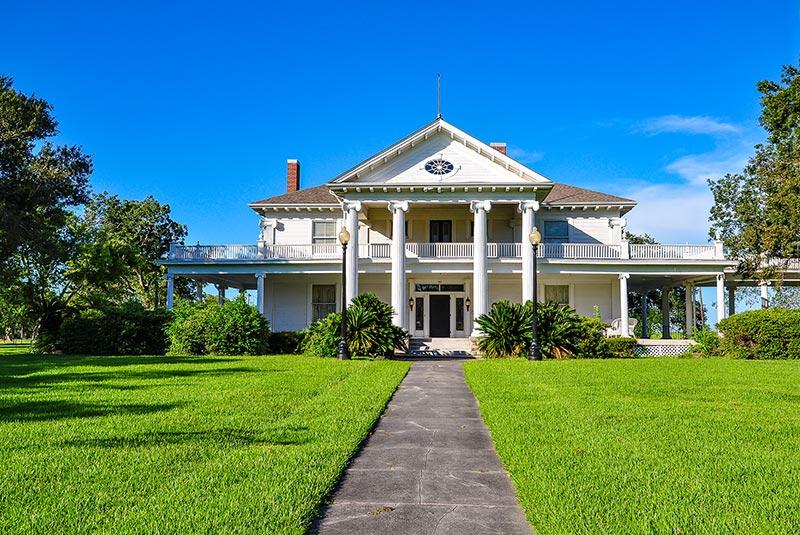 The Woodworth House aka Rose Hill, Port Arthur, Texas