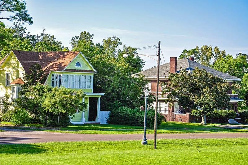 Historic district, Port Arthur, Texas