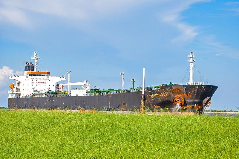 Ship Fidelity, Port Arthur, Texas