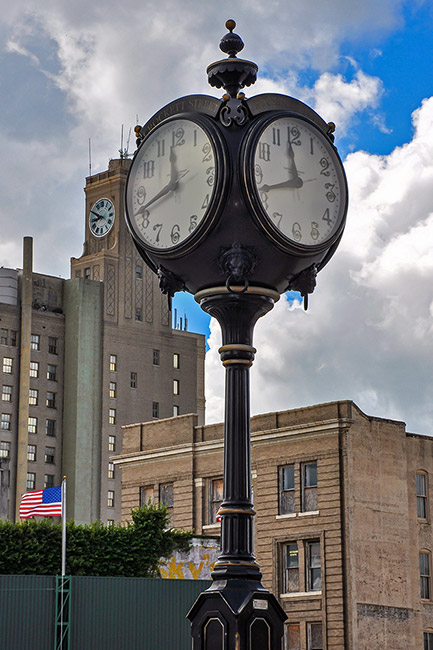 Watch, downtown Beaumont, Texas