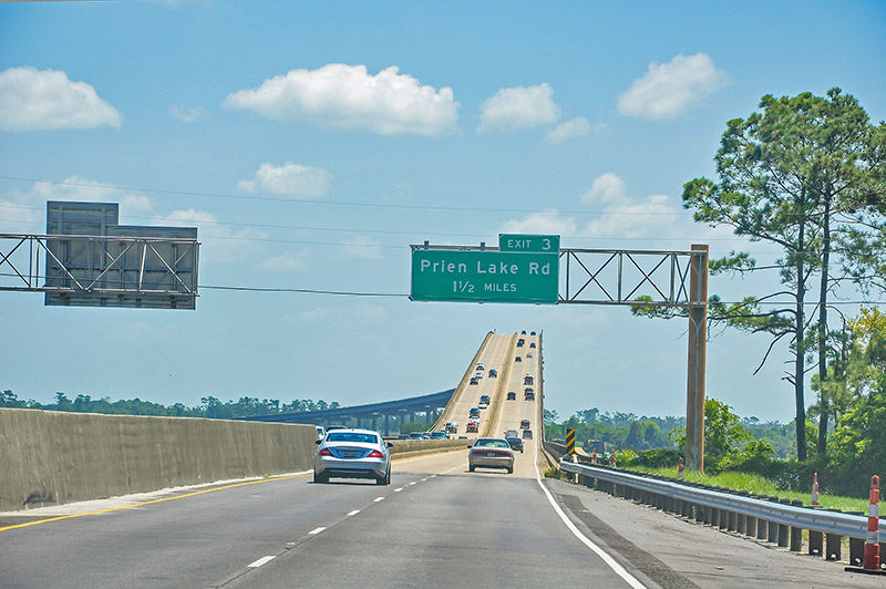 Calcasieu River High Bridge, Louisiana