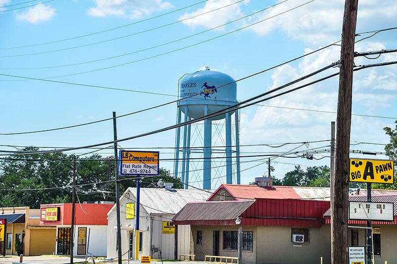 Water tower, Lake Charles, Louisiana