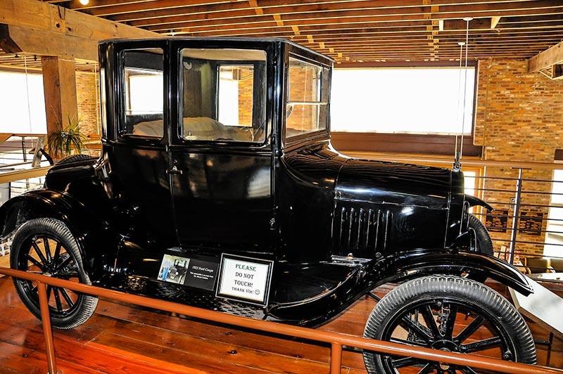 Model T Coupé, Ford Automotive Museum, Crowley, Louisiana