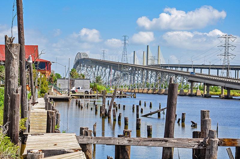 Rainbow Bridge, Bridge City, Texas
