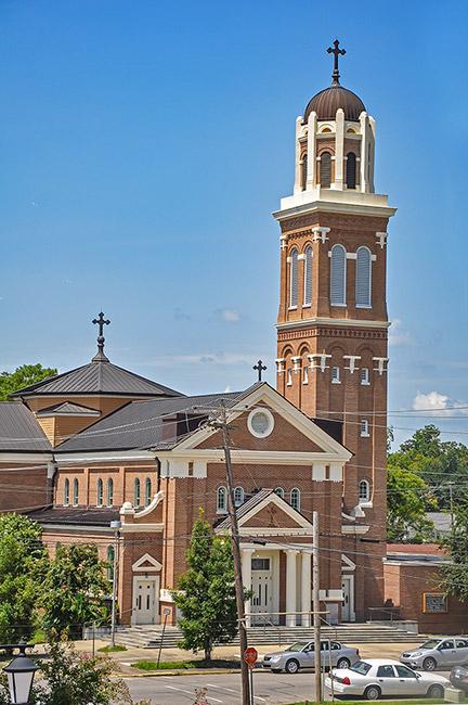 St Michael Catholic Church, Crowley, Louisiana