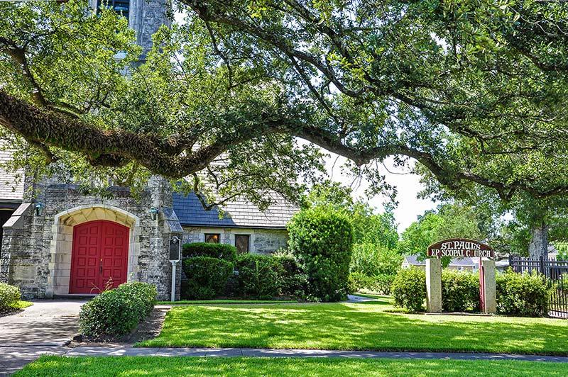 St Paul's Episcopal Church, Orange Historic District, Texas