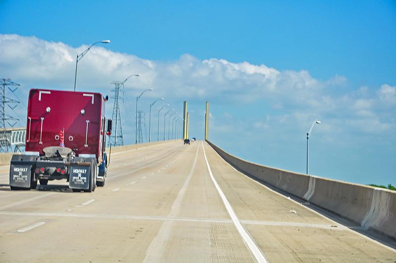 Veterans Memorial Bridge, Bridge City, Texas