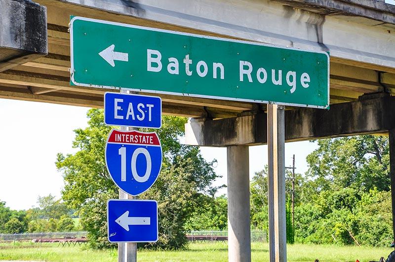 I-10 to Baton Rouge
